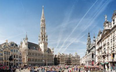 Easter in Brussels, Belgium