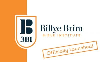 3BI Launched!!!!! Praise the Lord! May It Be To His Glory!