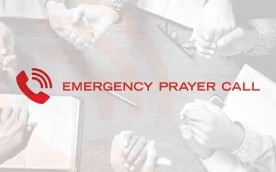 Emergency Prayer Call (EPC)